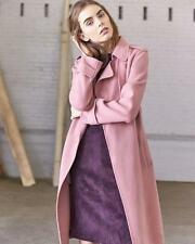 ALL-WEATHER! Theory Oaklane Double-Face Wool-Cashmere Trench Coat size P, M