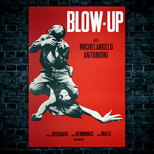 Movie Poster Blow Up - Michelangelo Antonioni