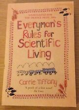 EVERYMAN'S RULES FOR SCIENTIFIC LIVING Carrie Tiffany Book (Paperback)