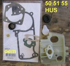 Husqvarna chainsaw 50 51 55 BULKHEAD KIT  Engine OEM carb carburetor gasket