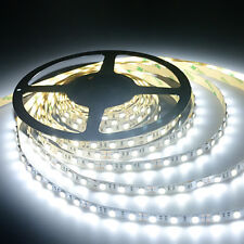Cool White LED Strip Light Waterproof Flexible NEW 24 volt 5M 2835 SMD 300 Leds