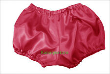 Deeppink Satin Pants Pantaloons India Maid Sissy Cute Adult Baby Fits Underwear