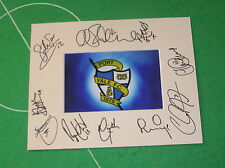 Port Vale FC Mount Multi-Signed x Ten 2014/15 First Team Squad