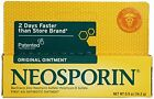 2 Pack - Neosporin Original First Aid Antibiotic Ointment 0.5oz Each