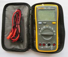 NEW FLUKE 15B+ F15B+ Digital Multimeter w/ Carry Bag from USA