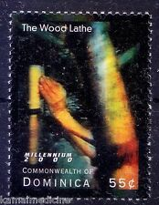 Dominica MNH, The Wood Lathe Machine,  Ancient Egyptians 1st developed a  - In08