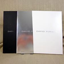 2 David Yurman Jewelry Catalog Book  Advertising Promotional Necklace Ring