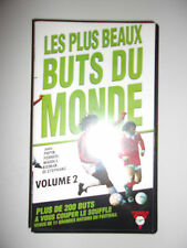 K7 VIDEO VHS LES PLUS BEAUX BUTS DU MONDE VOLUME 2
