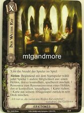 Lord of the Rings LCG  - 1x Der Weisse Rat  #010 - Die Dunland-Falle
