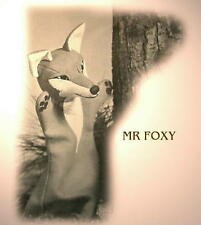 Vintage MR FOX GLOVE puppet 1958 (TOY SEWING PATTERN ONLY)