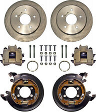 "CURRIE DISC BRAKE KIT,REAR PARKING,BIG FORD NEW,11"" ROTORS,CALIPERS,5x5,EXPLORER"