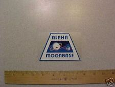 SPACE 1999 Moonbase Alpha Sticker /Gerry Anderson UFO Thunderbirds Eagle 1