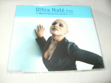 ULTRA NATE - FREE - CLASSIC HOUSE CD SINGLE