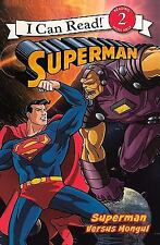 Superman Versus Mongul (Turtleback School & Library Binding Edition) (-ExLibrary