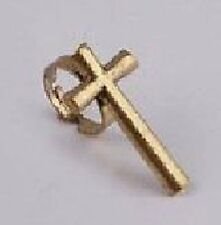 Kreuz Ring variabel BRONZE VINTAGE Blogger Anello Cross Anillo Cruz NEU