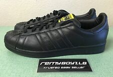 Adidas Superstar Pharrell Williams Supershell Black Mens Sz 12 Matter Energy NEW