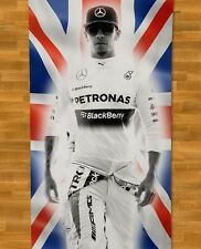 Lewis Hamilton Towel NEW Mercedes Petronas F1 British Flag Silverstone GP