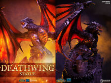 Sideshow World of Warcraft WoW Deathwing Polystone Statue MISB In Stock 25/2500