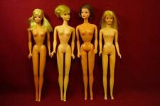 4 VINTAGE MOD ERA 1960s BARBIE DOLLS FOR PARTS REPAIR TNT FRANCIE PJ