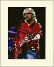 BARRY GIBB THE BEE GEES PP 8x10 MOUNTED SIGNED AUTOGRAPH PHOTO