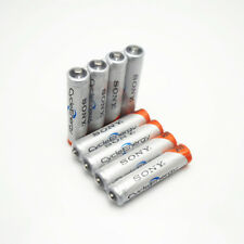 8Pcs Original NI-MH AAA HR03 3A Rechargeable Batteries 1.2V 4300mAh for Sony