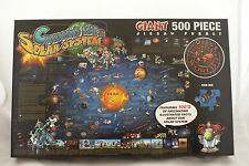 Round World Products RWPDP003 Solar System Map Jigsaw Puzzle Complete