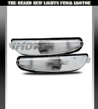 1999 2000 2001 2002 2003 2004 Chrysler 300M Signal Parking Bumper Lights Pair