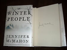 Jennifer McMahon signed The Winter People 1st printing hardcover book