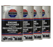 RESTORE Truck, Bus, Tractor, Digger engines - 4L AMETECH ENGINE RESTORER OIL