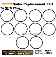 10 x Replacement IM350 top fan o'ring 403992 for Paslode Nailer IM350