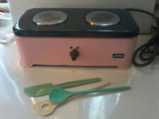 CUISINIERE TOLE  COOKER TIN TOY 50's - 60s  VINTAGE electrique electric WEBER