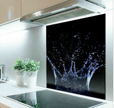 70cm x 60cm Digital Print Glass Splashback Heat Resistant  Toughened  286