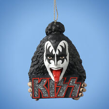 KISS Gene Simmons Demon Logo Resin Christmas Ornament