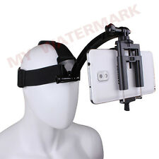 Head Strap + Phone holder + Motorcycle Biking Racing Arm Mount for Gopro &Phone