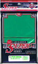 80 KMC Super Green CARD BARRIER Japanese Deck Protectors MTG MAGIC POKEMON