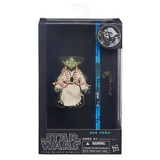"Star Wars Black Series 6"" Inch Figure #06 Yoda Jedi Master Authentic Hasbro NEW"