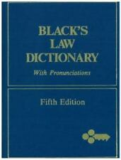 Black's Law Dictionary by Henry C. Black (1979, Hardcover)