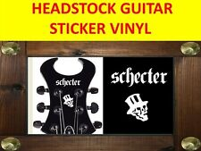 SCHECTE SYNYSTER WHITE HEADSTOCK DECAL VISIT OUR STORE WITH MANY MORE MODELS !!