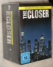The Closer Complete Series Season 1-7 (1,2,3,4,5,6,7)  DVD Box Set NEW SEALED