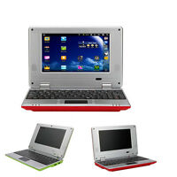 "NEW 7"" NETBOOK MINI LAPTOP WIFI ANDROID 8GB NOTEBOOK PC RED"