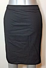 Ann Taylor LOFT Womens Size 4 Skirt Black Pencil Business Career Uniform Work
