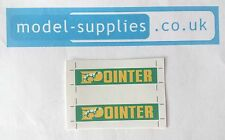 Matchbox 51C 8 Wheel Tipper Pointer Reproduction Stickers Set AEC Mammoth
