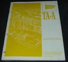 Werkstatthandbuch Renault 25 21 19 Clio Typ 57 Automatik Getriebe Stand 1992