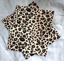 8 LEOPARD PRINT �� Cleaning Microfibre Cloths, LENSES, CAMERA, GLASSES