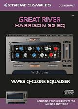 Xtreme Samples Great River Harrison 32 EQ Waves Q-Clone Library