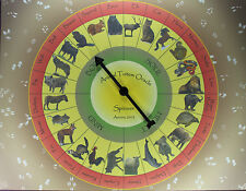 ANIMAL TOTEM ORACLE SPINNER Divination Fortune Telling Game Pagan Magick Symbols