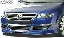 RDX Front alerón VW Passat 3c b6 alerón labio enfoque Front delantero RDFa 070