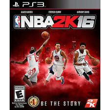 NBA 2K16 RE-SEALED Sony PlayStation 3 PS PS3 BASKETBALL GAME 2016 16