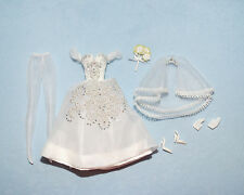PRINCIPESSA Silkstone Bridal Gown Silky White Gold Label Wedding Dress BARBIE