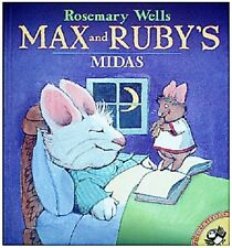 Max & Ruby's Midas, New Book by Rosemary Wells